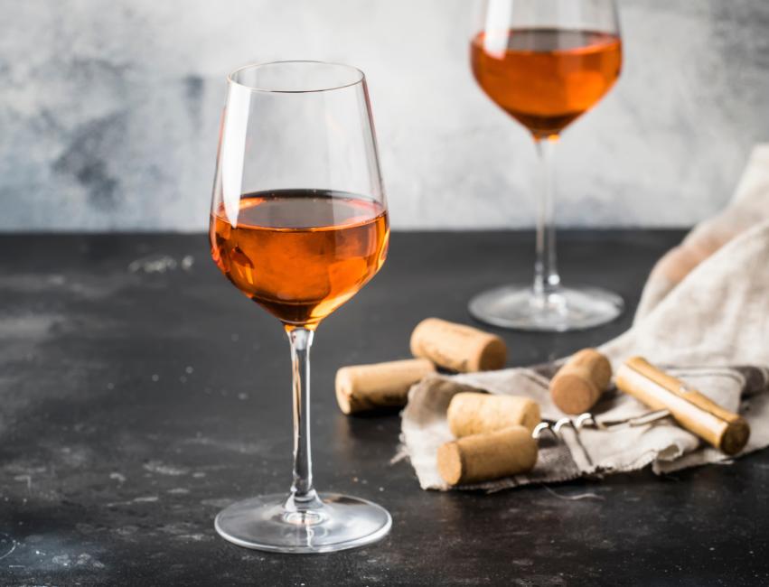 what is orange wine