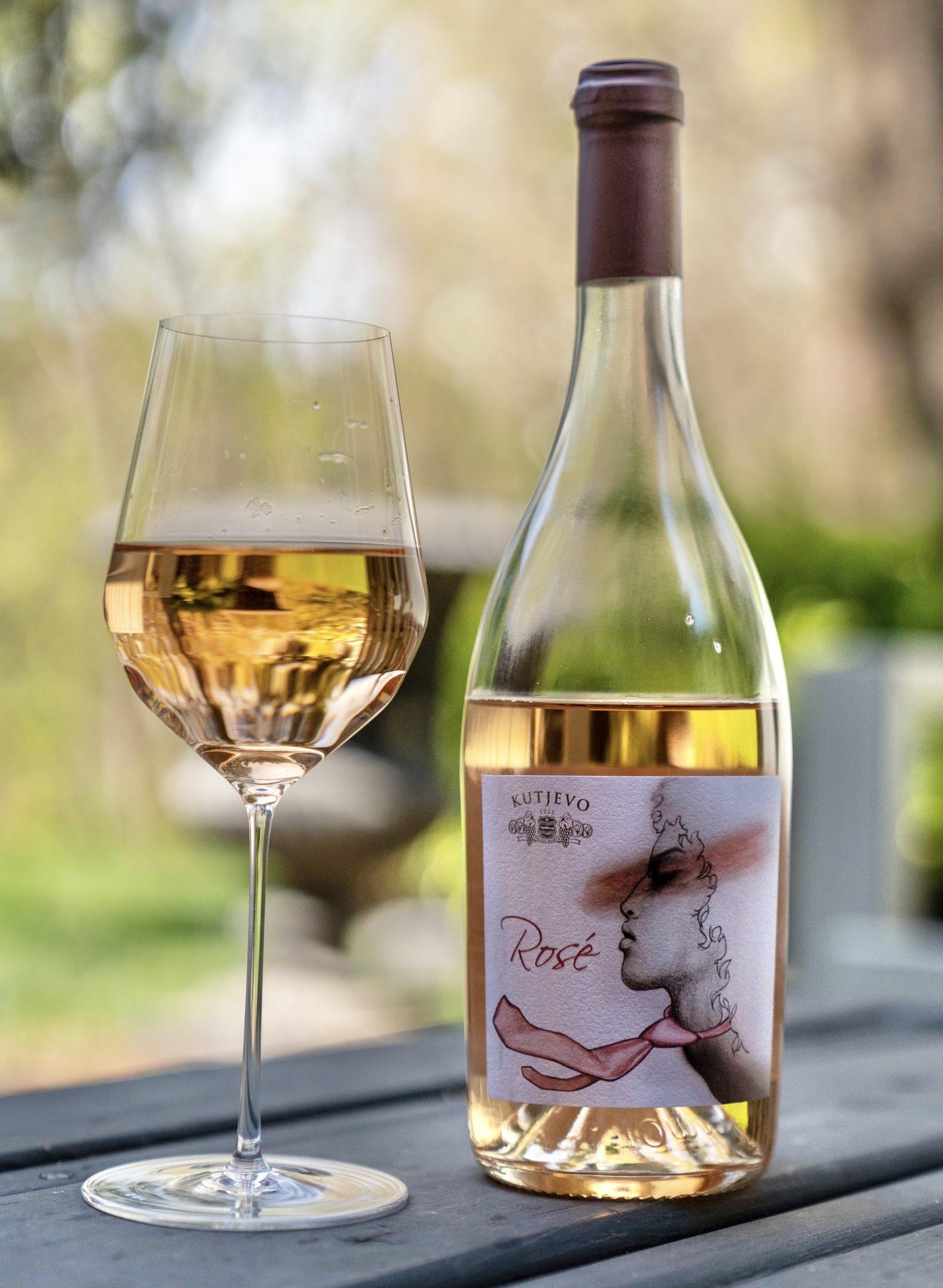 Croatian Rosé Wine Croatian Rosé Wine Croatian Rose Wine Croatian Rose Wine in Canada Croatian Rose wine in Toronto Croatian Rose wine in Ontario Kutjevo Rosé Wine 2019  Kutjevo Winery Croatian wine ontario
