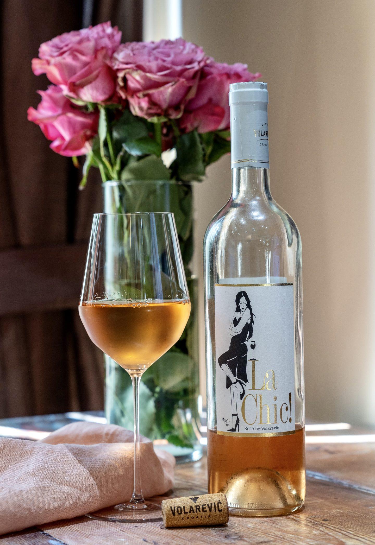 Croatian Rosé Wine Croatian Rosé Wine Croatian Rose Wine Croatian Rose Wine in Canada Croatian Rose wine in Toronto Croatian Rose wine in Ontario Volarević La Chic! Rosé 2019  Volarević winery