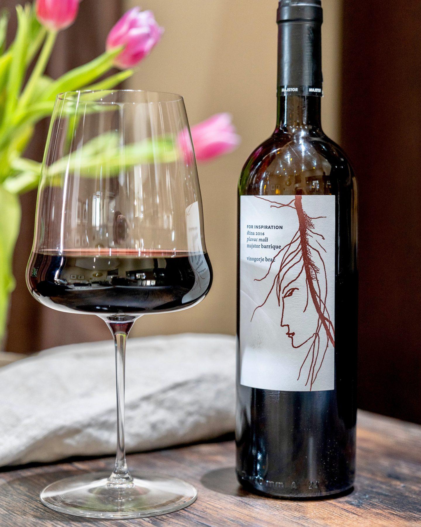 Stina Plavac Mali Majstor Plavac Mali Croatian Wine Stina Croatian Wine